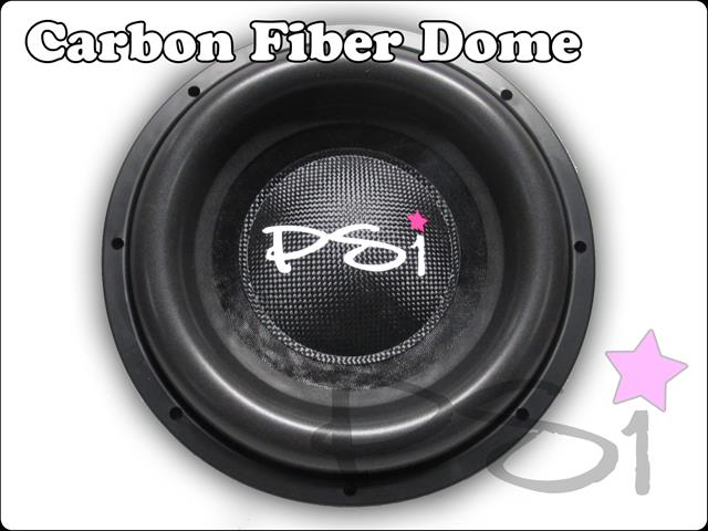 trCarbon Fiber Dome (Small)
